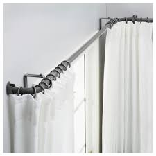 l shaped shower curtain rod find an l shaped shower rod