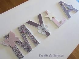lettres pour chambre bébé lettre bois chambre bebe decorative pour 0 4 s en fondatorii info