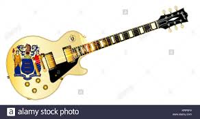 New Jersey State Flag Colors New Jersey State Flag Guitar Stock Photo Royalty Free Image