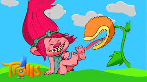 trolls poppy tickle coloring book video episode for kids