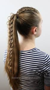 hair braided into pony tail 2 dutch braids 5 different hairstyles babesinhairland com