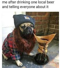 Hipster Dog Meme - hipster dog made his own beer telling everyone about it hipster