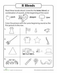 all worksheets consonant l blends worksheets free printable