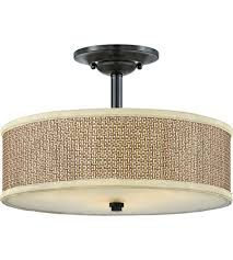 Quoizel Flush Mount Ceiling Light Quoizel Ze1717k Zen 3 Light 17 Inch Mystic Black Semi Flush Mount