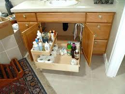 under bathroom sink storage elegant under sink bathroom storage or under bathroom sink shelf