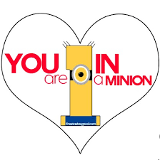 valentine u0027s minions party treats printable free tastes good