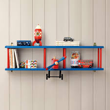 bi plane wall shelf bookcases u0026 bookshelves children u0027s