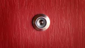 how to install a door viewer peep hole youtube