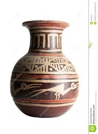 terracotta vase with patterns stock photos image 22343713