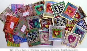 heaps of layered printed cards workshop is live