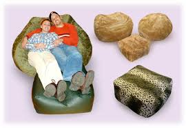 bean bag chair with ottoman ottoman bean bag chairs