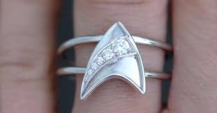 geeky engagement rings 19 more geeky engagement rings and wedding bands