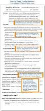 sample cv for teacher job music teacher sample resume