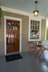 front porch u2013 ceiling birds egg trim linen white front door