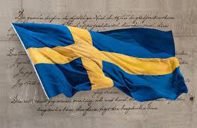 Sweedish Flag The Swedish Flag Marine Art Painter And Artist Niklas Amundson