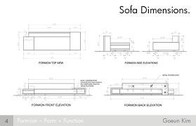 Dimensions Of A Couch Sofa Dimensions Sofa Interior Design Ideas Modern And Dimensions