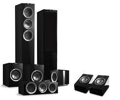 home theater speaker systems r series surround sound dolby atmos home theater system kef direct
