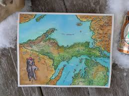 Map Of The Upper Peninsula Of Michigan by Fantasy Map Of Michigan Upper Peninsula