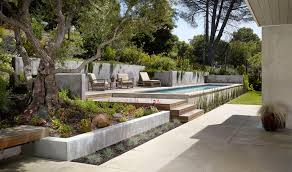 Concrete Pool Designs Ideas Stupefying Pool Designs For Small Spaces Ideas In Landscape Modern