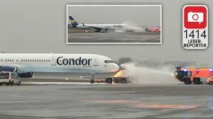 Flug Baden Baden Hamburg Alarm Am Airport Hamburg Feuer Auf Dem Rollfeld 1414 Leser