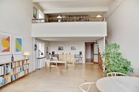 Arne Jacobsen Stairs by Arne Jacobsen Designed This Minimalist Townhouse Outside