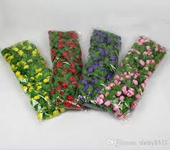 6 8ft artificial garland silk flower vine home wedding