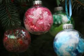 ornaments ruby cased waterford