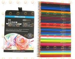 colored pencils watersoluble 36 color set simbalion watercolor