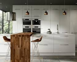 Floor To Ceiling Kitchen Cabinets Esker Ice White Gloss Kitchen Wickes Co Uk