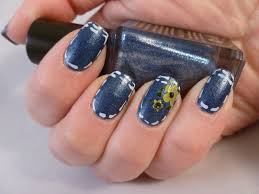 lacquer or leave her msmd denim nails