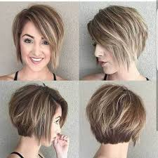 bob haircut for chubby face 18 fresh layered short hairstyles for round faces crazyforus
