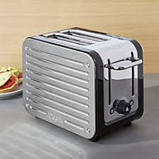 Modern Toasters Dualit Design Series Toaster Crate And Barrel