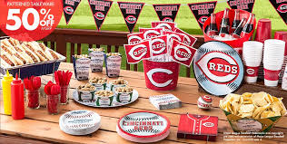 baseball party supplies mlb cincinnati reds party supplies party city
