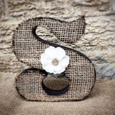 best 25 burlap letter ideas on pinterest letters with flowers