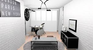 papier peint chambre ado deco chambre ado papier peint visuel 4