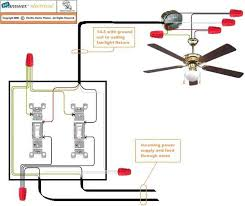 Ceiling Fan And Light Switch How To Wire A Ceiling Fan Switch Australia Www Lightneasy Net