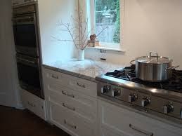 kitchen inspiring u shape white kitchen decoration using mount