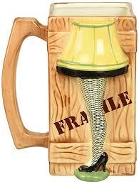 a christmas story leg l amazon com icup a christmas story leg l molded ceramic mug 40