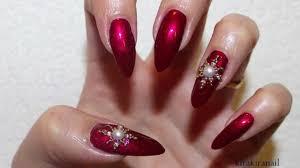 elegant christmas holiday nails youtube