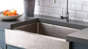 double basin apron front sink beautiful farmhouse double bowl concrete kitchen sink native