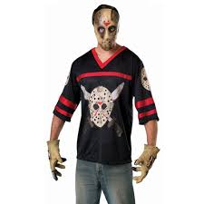Jason Voorhees Halloween Costume Super Deluxe Jason Friday 13th Adults Costume Authentic Freddy