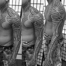 40 polynesian sleeve designs for tribal ink ideas