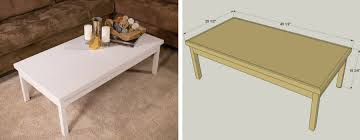 plywood coffee table plans super simple coffee table kreg tool company