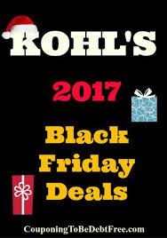 kohl s 2017 black friday ad
