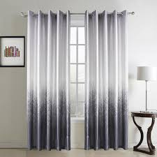 gwell tree print thermal supersoft eyelet ring top curtains for