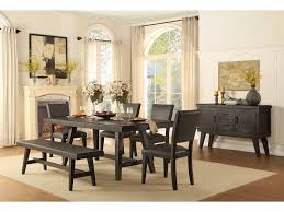 homelegance dining room dining table handscraped 5480 76 simply homelegance dining table handscraped 5480 76