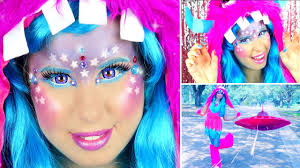 Unicorn Halloween Makeup by Cute U0026 Colorful Glitter Monster Alien Makeup U0026 Halloween Costume