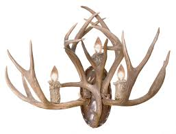 Antler Wall Sconce Antler Sconces Hand Crafted In America Since 1913 Ls0925