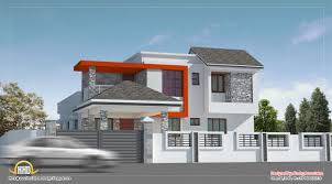 modern contemporary house contemporary house designs sq feet 4 bedroom villa design at