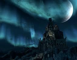 halloween scrolls background video game skyrim the elder scrolls video game moon building
